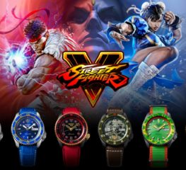 Seiko เปิดตัวคอลเลคชั่นนาฬิกาจากเกม Street Fighter