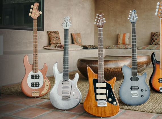 Ernie Ball Music Man เปิด Collection July 2020