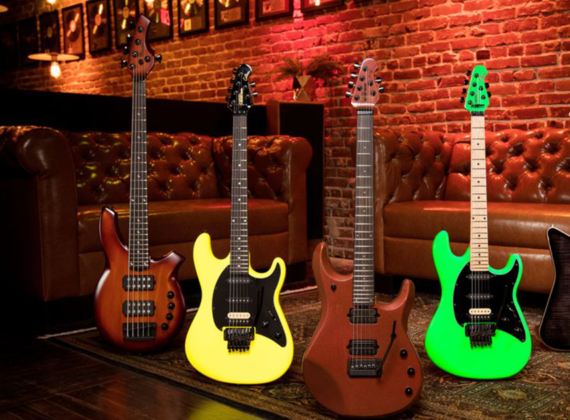 ERNIE BALL MUSIC MAN เปิด COLLECTION SEPTEMBER 2020