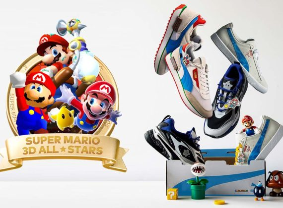 Puma ฉลองครบรอบ 35 ปีของ Super Mario ด้วยชุดสนีกเกอร์ธีม Nintendo