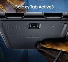 ซัมซุงเปิดตัว Galaxy Tab Active3 สมาร์ทแท็บเล็ตรุ่นล่าสุด