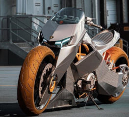 มาชมคอนเซ็ปต์รถมอเตอร์ไซค์ที่ได้แรงบันดาลใจจากซุปเปอร์คาร์ Lamborghini