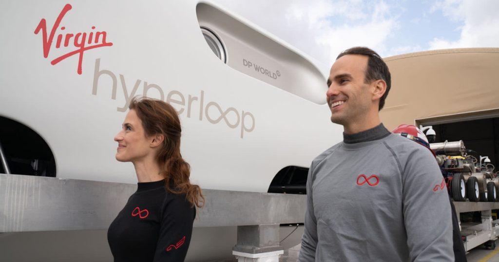 Hyperloop จาก Virgin ถูกทดสอบกับผู้โดยสารจริงเรียบร้อยแล้ว