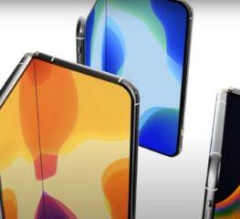 Apple อาจเปิดตัว iPhone พับได้ในปี 2022