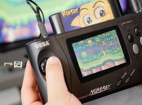 อย่างเก๋า! SEGA เผยโฉมเครื่องเกม MegaDrive รุ่นพกพาตัว Prototype