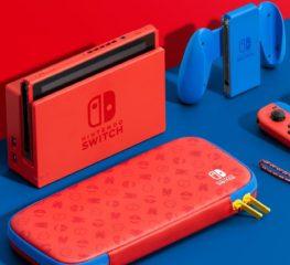 ของมันต้องมี! เปิดตัว Nintendo Switch สีแดงลายใหม่ต้อนรับเกมมาริโอ้