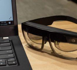 Lenovo เผยโฉมต้นแบบแว่น AR ตัวใหม่ในงาน CES 2021
