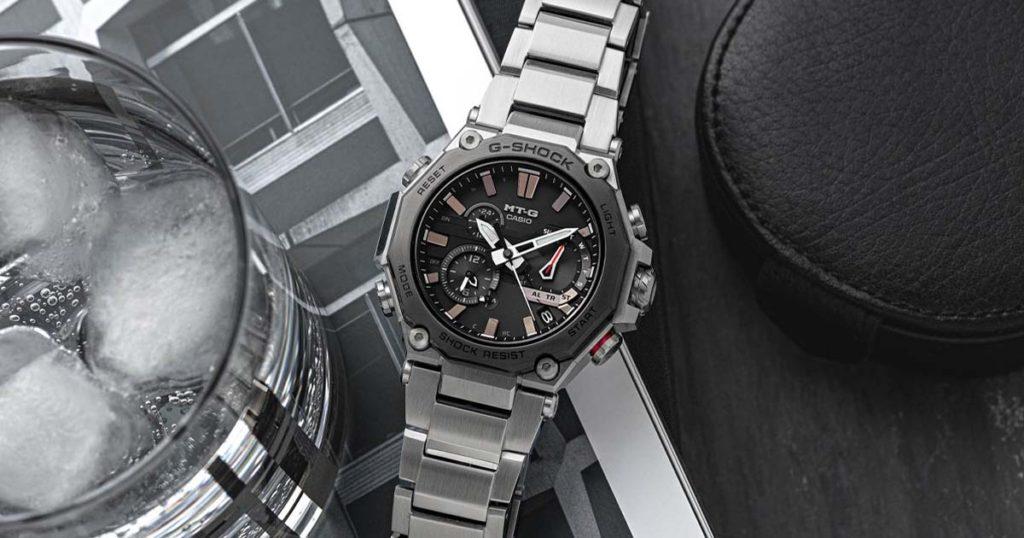นาฬิกา MTG รุ่นล่าสุดของ G-SHOCK นำเสนอเทคโนโลยีที่แข็งแกร่งในแพ็คเกจที่มีระดับ