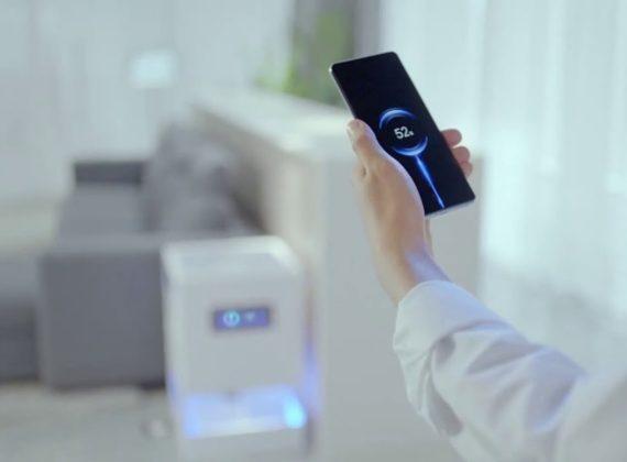 Xiaomi เปิดตัวเครื่องไวเลสชาร์จแบบ Over The Air ครั้งแรก