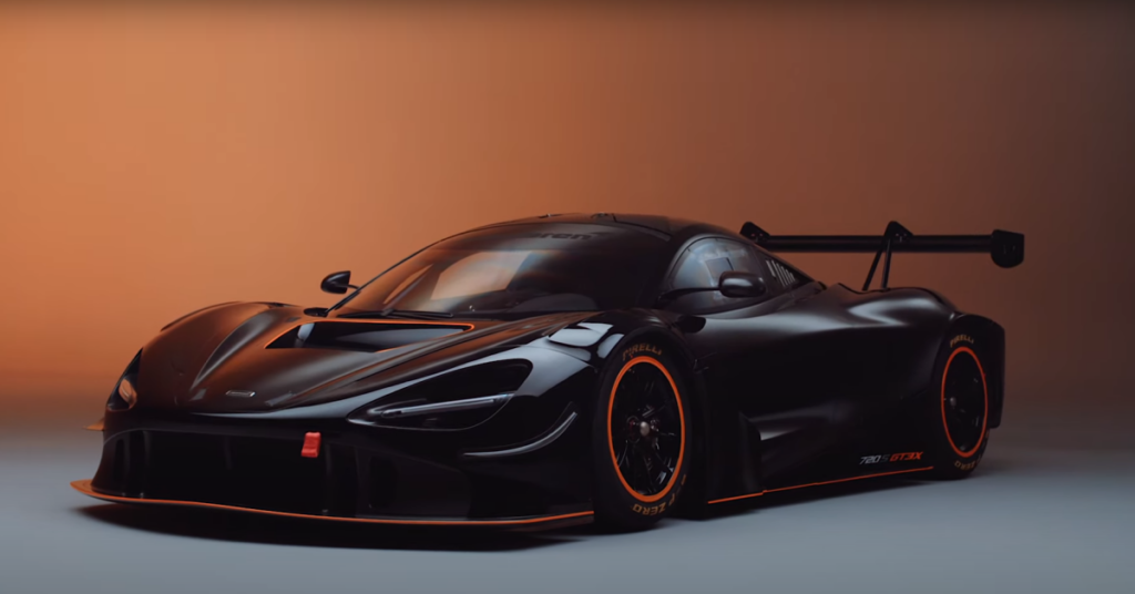 McLaren 720S GT3X แหกทุกกฎของความเร็ว จากสนามแข่งสู่ท้องถนน
