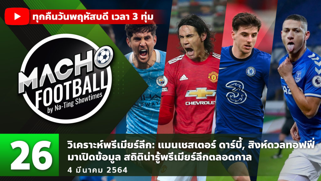 MACHO FOOTBALL BY NA-TING SHOWTIMES EP.26 | 4/03/21