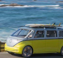 Volkswagen ID.Buzz รถยนต์ไฟฟ้าจะจำหน่ายช่วงปี 2023 ในรูปทรง microbus ที่สาวก VW หลงรัก