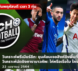 MACHO FOOTBALL BY NA-TING SHOWTIMES EP.33 | 22/04/21
