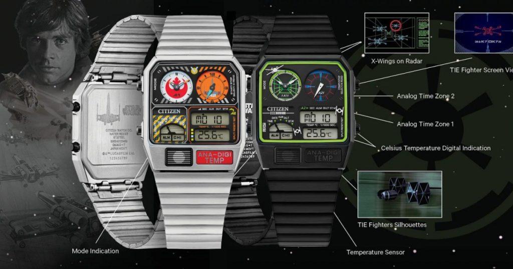 สาวก StarWars ต้องร้องว้าว Citizen ปล่อยนาฬิการุ่น Rebel Pilot  และ Trench Run