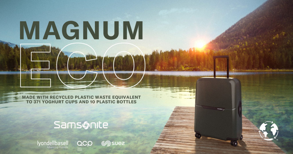 Samsonite เปิดตัวคอลเลคชั่นกระเป๋าเดินทางรุ่น 'Magnum Eco'