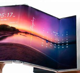 Samsung เผยภาพต้นแบบจอพับได้รูปแบบใหม่