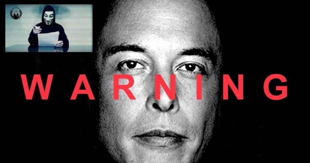 กลุ่ม Anonymous ปล่อยคลิปเตือนถึง Elon Musk การกระทำต่าง ๆ ที่สร้างไว้อาจได้รับการสวนกลับในเร็ว ๆ นี้