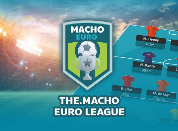 เล่นแฟนตาซียูโร มีเสื้อบอลแจก! The.Macho EURO League เปิดแล้ว! จอยด่วน!