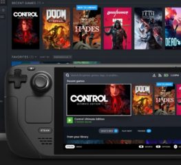 Valve เปิดตัวเครื่องเล่นเกมพกพารุ่นใหม่ในชื่อ Steam Deck