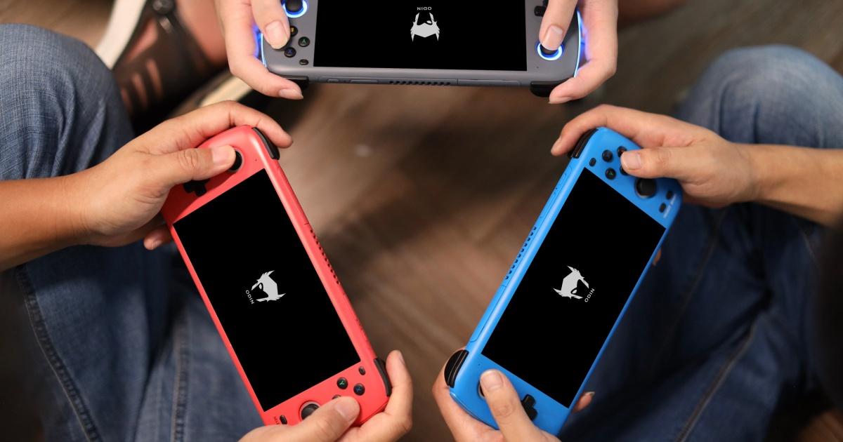 AYA เผยโฉมเครื่องเล่นเกมพกพา Android รุ่นใหม่ในชื่อ Odin